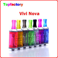 Wholesale Vivi Big Tank - High quality ViVi Nova Tank High big tank 3.5ml rechangable vision vivi nova clearomizer Electronic Cigarette ViVi Atomizer Free Shipment