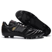 Wholesale White Color Boots - Copa Mundial FG Football Shoes Soccer Cleats Black Color Soccer Boots Mens Football Boots Size:39-45