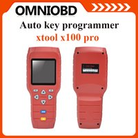Wholesale Auto Remote Key Peugeot - Original Xtool X100 Pro C Version Auto Key programmer Online Update X-100 Pro immobilizer remote control matching tool DHL Free Shipping