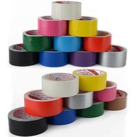 Wholesale xWaterproof Gaffa Gaffer Self Adhesive Repair Cloth Duct Duck Tape Multipurpose
