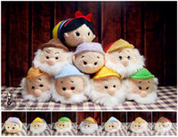 Juguetes rellenos Blancanieves y los siete enanitos '' Tsum Tsum '' Mini Plush Collection Kawaii Dolls Screen Cleaner
