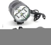 Wholesale High Power Led Bike Lights - Securitylng 6000 Lumen High Power 5 x CREE XML T6 LED Front Bicycle Light Bike Lamp + Headlight Headlamp + 8.4v battery pack