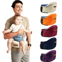 Wholesale Toddler Hip Seat Carrier - Kangaroo Baby Carrier Waist Stool Walkers Baby Sling Hold Waist Belt Backpack Hipseat Belt Kids Infant Hip Seat Toddler Children