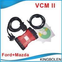 Wholesale Vcm Ids Ford Mazda - VCM II IDS Ford Mazda Diagnostic Scanner Newest V96 version software VCM2 21 languages Support 2017 Ford Vehicles OBD2 Scanner DHL Post Free