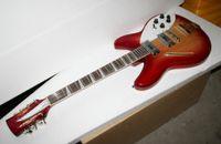 12 cordes guitares en porcelaine achat en gros de-Vente en gros - Meilleur guitare Deluxe Model 360/12 STRING Guitare électrique Semi Hollow Cherry Burst