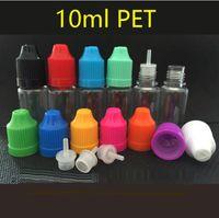 Wholesale Pet Stamps - 10ml E Liquid PE Dropper Bottle Bottles with Child Proof PET Bottle caps Needle Tips E-Liquid 5ml 10ml 15ml 20ml 30ml 50ml for e cigarette
