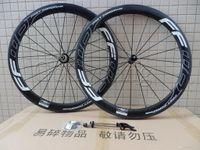 Wholesale Ud Carbon Matt Wheel - FFWD Fast Forward F5R rim depth 50mm carbon bicycle wheels Powerway Hub R36 Basalt brake surfce clincher tubular road bike wheelset UD matt