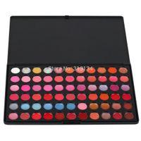 Wholesale Pro Makeup 66 Color - 1 set High Quality 66 Color Lipstick Cosmetic Pro Lip Gloss Makeup Palette Fashion Free Shipping