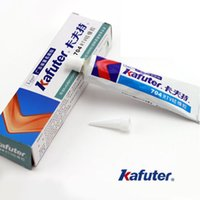 Wholesale New Industrial Silicone Adhesive RTV Silicone Rubber White Glue g Kafuter order lt no track