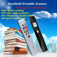 Scanner portatile WIFI 1050DPI iScan HD Portable Hand Held mini scanner Great Helper A4 per zero margine