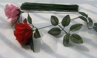 Wholesale Hot Iron Wire Rod Simulation Flowers Trunk Flower stem CM DIY Accessories
