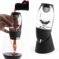 Wholesale wine decanter wholesale - Red Wine Aerator Filter Magic Decanter Pourer Essential Aerating Air Hopper Xmas Gifts Red Wine Aerator CCA8381 24pcs