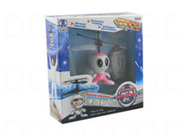Wholesale Remote Controlled Flying Birds - Wholesale-2pcs Flying Saucer Bird Infrared Induction RC Helicopter Floating UFO Remote Control High Quality RC Fun Toy