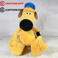 Wholesale Shaun Sheep Plush Toys - Plush toys Shaun The Sheep dog Bitzer doll birthday toys 25cm JIA675