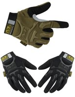 Wholesale Mechanix S - Wholesale-Outdoor Mechanix Wear M-Pact Camping Military Tactical Airsoft Hunting Shooting Motorcycle Bike Riding Gloves Army CS Paintball