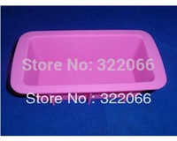Wholesale Christmas Silicone Mold Wholesale - free shipping 10pcs lot factory wholesale Silicone loaf pan Cake Mold Cupcake Mold  handmade soap mold  Christmas bakeware