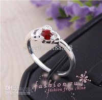 Wholesale Crystal Gift Birthday - 100pcs lot Silver Plated Mix Style Rhinestone Crystal Rings Fit for Wedding Birthday Graduation Party Fashion Jewelry
