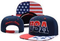 Wholesale Snap Back Hats Usa - SEVENTY SEVEN USA Forever Snapback Fashion USA Snapbacks Snap Backs Hats White Dream Snapback sport team by factory TY