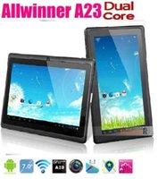 DHL billigste 7-Zoll-Aktionen A33 Q88 HOT Quad-Kern Kapazitive Android 4.4 Dual-Kamera 512 / 4G Tablet PC