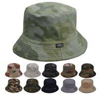Wholesale Wholesale Safari Hat - Wholesale-2015 Freeshipping Dome New Arrival Adult Fishing Hat Chapeu Masculino Camouflage Bucket Safari Soft Cotton Cap Hat- Many Colors