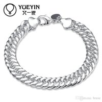 Wholesale Fine Boutique - Another silver fine silver jewelry in Europe and America exports boutique 10MM whole side bracelet creative gift