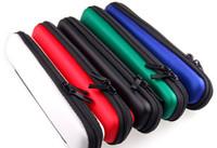 e cig carry toptan satış-Ego E çiğ ego e-çiğ kılıf çanta için fermuarlı çanta elektronik sigara Fermuar CE4 atomizer mini Protank 3 için Taşıma Çantası EVOD