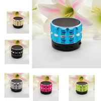 Wholesale Home Radio Stereo - S17 Bluetooth Speakers Mini Wireless Portable Speaker HI-FI Music Player Stereo Subwoofers Home Audio Support TF Card DHL Free MIS076