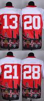 Wholesale San Francisco Footballs - 2016 Newest Wholesale Men's San Francisco #13 Johnson red New Style Noble Fashion Elite Jerseys Jerseys Football Jerseys