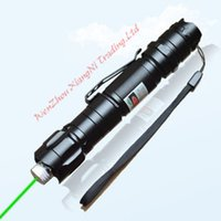 Wholesale Green Laser Burning Caps - car Hot Sale Lazer Promotion! Brand And Quality Green Burning Laser Pointer Pen Beam 8000M Super Range Light Star Cap High Power order<$18no tra