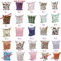 Wholesale Baby Swimmers - Wet Dry Bag, With Two Zippered, Baby Diaper Nappy Bag, Waterproof, Swimmer,90 Designs