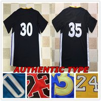 AUTÉNTICO RETRO Jersey cosido Durant James Michael MJ Jerseys Deporte Barato al por mayor HOT Rugby retroceso SHIRT SALE
