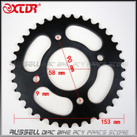 Wholesale Universal Rear Chain Wheel sprocket Gear T Tooth For Dirt Pit Bike off road accessories Parts cc cc