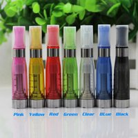 Wholesale Cartomizer Clearomizer Ego Wickless - Top quality 1.6ml Wickless EGO Quit Smoking CE5 No Wick Electronic Cigarette E-Cigarette Nebulizer Cartomizer Atomizer Clearomizer CE5S