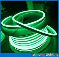 tira led mais fina venda por atacado-50 M 164ft 230 v Original Neo-Neon ultra fino LED Neon Flex 8 * 16mm micro flexível LED luzes de néon fita decoração tira corda