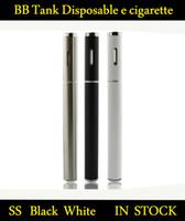 Wholesale Shipping T1 - 100% BB Tank T1 Disposable e cigarette vaporizer o pen vape bb tank thick oil cartridge pen Free Shipping