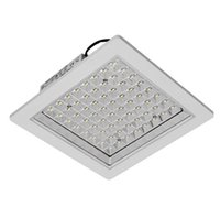 Wholesale Led Square Ceiling Integrated Lights - Square concealed LED kitchen lights embedded integrated ceiling kitchen bathroom toilet waterproof ceiling