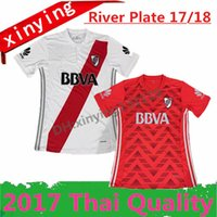 Wholesale Soccer Jersey River - thai quality 2017 2018 Atletico CA River Plate Soccer Jerseys 17 18 Primera Division de Argentina Home away El Mas Grande football shirt