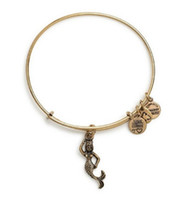 Wholesale Mermaid Men - Original alex and ani Mermaid bangle Antique gold and silver Body scalable adjustable copper Meaning man women tag bracelet
