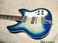 Wholesale Electric 12 String Guitar Blue - 12 Strings Blue Flame Electric Guitar 325 330 High Quality Wholesale Guitars From China