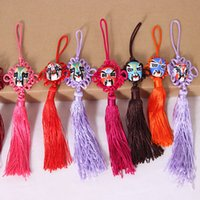 Wholesale Interior Decoration Books - Chinese knot face book Boutique car pendants car Interior accessories Christmas Ornaments Gifts Interior Decorations Car Pendants