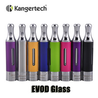 Wholesale Evod Glass - 100% Original Kanger EVOD Glass Atomizer Bottom Dual Coil Clearomizer Pyrex Glass BDC Tank for ego thread battery