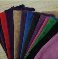 Wholesale 1 m wide cotton corduroy velvet sofa fabric handmade diy coat pants clothes