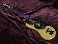 Wholesale China Custom Bass - passive Pickups 4 Strings Custom JUGG Butterfly Electric Bass Guitar Natural Finish Alder Body, Maple&Rosewood Top, Maple Neck China Guitars