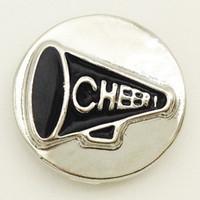 Wholesale Oem Bracelets - Wholesale-MT607 CHEER metal snap button for bracelet OEM, ODM (fit 18mm 20mm snap)
