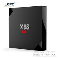 M9S Android Smart TV Box Multiple Interface USB WIFI HDMI KD17.3 Android6.0 Lecteur Média RK3229 1 Go 8 Go IPTV Box