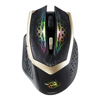 Wholesale New Gaming Rechargeable Ghz Wireless Mouse Silent Click Button computer mouse game for laptop gift mice freeshipping
