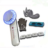 máquina de ultra-som para beleza venda por atacado-6 em 1 máquina handheld Multi-funcional do emagrecimento da beleza do emagrecimento do ultra-som portátil
