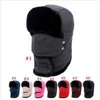 Wholesale Polar Bikes - Winter Mask Outdoor Thermal Warm Balaclava Hats Hood Skiing Cap Fleece Ski Bike Scarf Wind Stopper Ski Mask Hats Caps YYA756