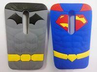 Wholesale Lg Pro Lite Silicone Case - 3D Stereo Superman Batman Hero Silicone gel rubber Soft Case For LG G Pro Lite D680 G3 Moto G2 Samsung Galaxy Grand Prime G530 Skin cover