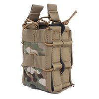 Wholesale molle pouches accessory for sale - Tactical Molle Vest Bag Airsoft M4 Magazine Pouch D for Military Outdoor Hunting Hiking Paintball Accessories